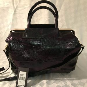 NEW!     Brian Atwood Sophia leather satchel